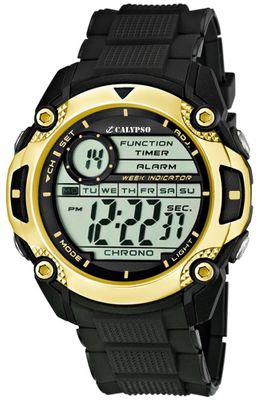 Calypso Watches K5577 Herrenuhr Quarz Alarm-Chrono digital – Bild 6