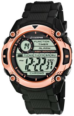 Calypso Watches K5577 Herrenuhr Quarz Alarm-Chrono digital – Bild 7