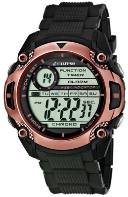 Calypso Watches K5577 Herrenuhr Quarz Alarm-Chrono digital – Bild 8