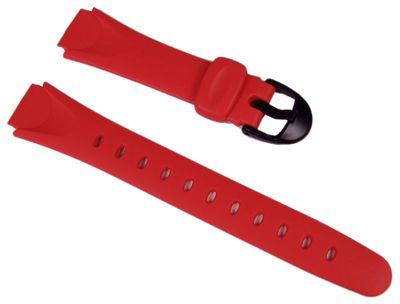 Casio Ersatzband Uhrenarmband Resin Rot 14mm LW-200