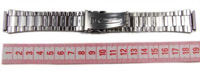 Casio Ersatzband Uhrenarmband Edelstahl 20mm WV-59DE WV-59DU, WV-59 – Bild 3