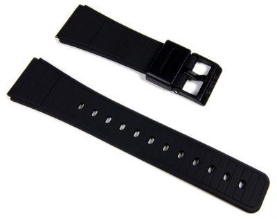 Casio Ersatzband Uhrenarmband Resin schwarz 22mm DBC-62-* – Bild 1