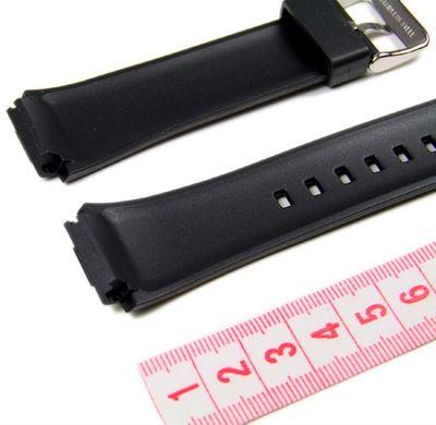 Casio Ersatzband Uhrenarmband Resin Band schwarz EF-552 – Bild 2