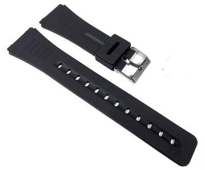Minott Ersatzband Uhrenarmband Kunststoff Band schwarz 22mm