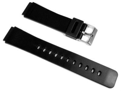 Minott Ersatzband Uhrenarmband Kunststoff Band 19mm 16380S