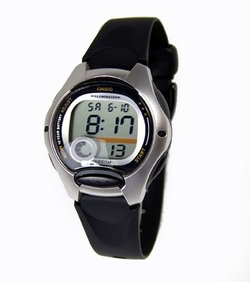 Casio Collection Kinderuhr schwarz | Tagesalarm LW-200-1AVEF – Bild 1