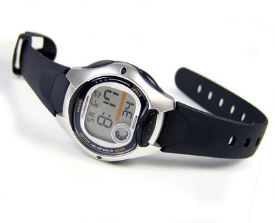 Casio Collection Kinderuhr schwarz | Tagesalarm LW-200-1AVEF – Bild 2