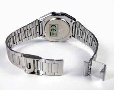 Casio Collection Armbanduhr der Klassiker A158WEA-9EF – Bild 3