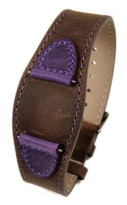 Ersatzband Leder mehrfarbig 16mm für s.Oliver SO-1739-LQ – Bild 1