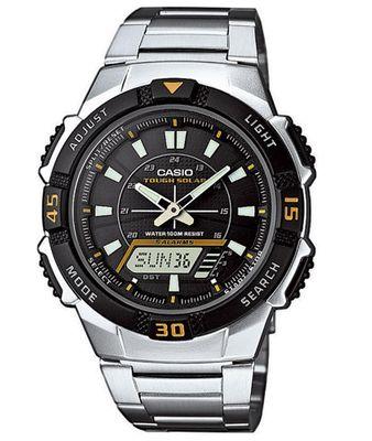 Casio Collection Herren Solaruhr ana digi 5 Alarme AQ-S800WD-1EVEF