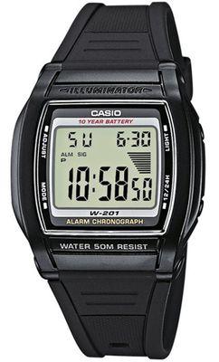 Casio Collection Armbanduhr W-201-1AVEF
