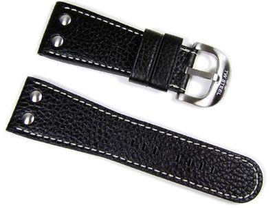 TW STEEL Goliath Herren | Uhrenarmband 30mm schwarz TWB70