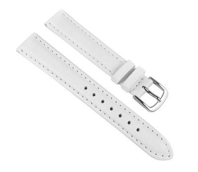 Minott Ersatzband Uhrenarmband Leder Taurus weiss 18mm 17638S