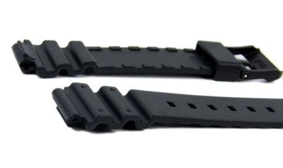 Casio Ersatzband Uhrenarmband 18mm Resin Band schwarz MRW-200H-1EVEF MRW-200 – Bild 2