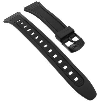 Ersatzband Resin schwarz 18mm Casio W-201 – Bild 1