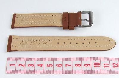 Birkenstock Ersatzband Uhrenarmband Camel-Sport 20mm Camelbraun 682920S-Band – Bild 2