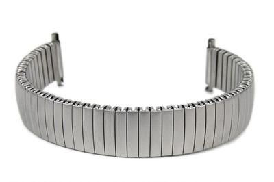 Flexband Zugband Ersatzband Edelstahl Titanoptik 14mm 15mm 16mm – Bild 1