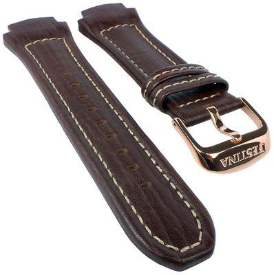Festina Ersatzband | Uhrenarmband Leder Band 21mm Braun F16357/2 F16357 – Bild 1