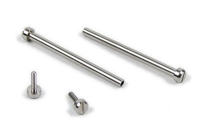 Casio Bandschrauben Ø 1,8mm 24mm Edelstahl silbern lang PRG-40 PRG-60
