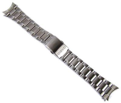Casio Uhrenarmband 22mm | Edelstahl Silberfarben AMW-706D AMW-704D – Bild 1