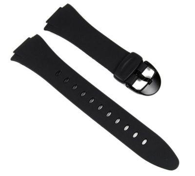 Casio Ersatzband Uhrenarmband 15mm Resin schwarz F-E10-1 F-E10 – Bild 1