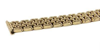 Minott Ersatzband Uhrenarmband Edelstahl Band IP Gelbgold 10mm - 12mm – Bild 2