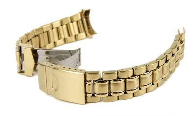 Minott Ersatzband Uhrenarmband 6 x Wechselantoß IP Gelbgold 18mm 20mm 22mm – Bild 1