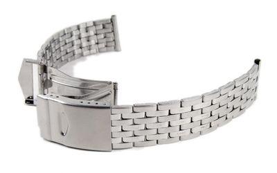 Minott Ersatzband Uhrenarmband Edelstahl Band 18mm - 20mm 18332S – Bild 1