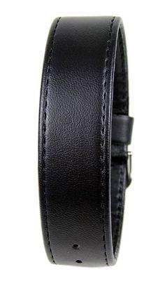 Casio Ersatzband Durchzugsband Leder schwarz 20mm BG-141 F-142