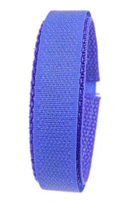 Minott Ersatzband | Textilklettband in blau für Uhren mit 20mm-Anstoß – Bild 1