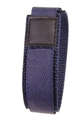 Minott Ersatzband Uhrenarmband Textilband Klettband Marine 16mm