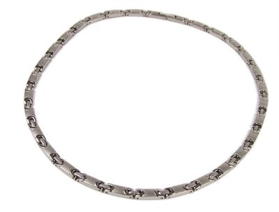 Minott Titan Damenschmuck Halskette Collier Titanschmuck 45cm – Bild 1
