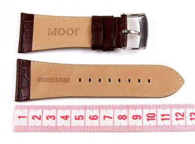 Joop Conqueror  Lederband Dunkelbraun Krokooptik 31 mm 100411007 – Bild 2