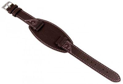 Esprit Unterlagenband Leder dunkelbraun 17mm für ES104802001 – Bild 1