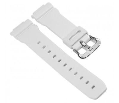 Casio Ersatzband Uhrenarmband Resin Band Weiss für GW-6900A DW-6900 G-5600 DW-5600