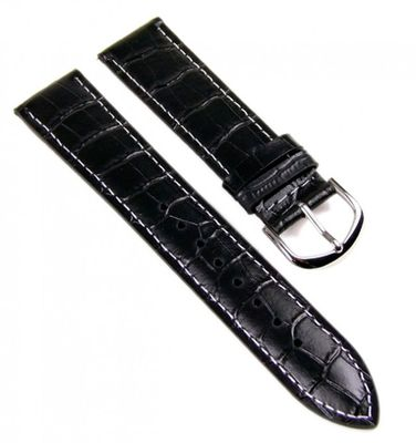 Casio Ersatzband Uhrenarmband Leder 20mm schwarz MTP-1302L
