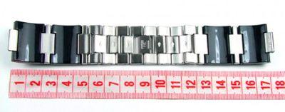 Calypso Damen Uhrenarmband Kunststoff/Edelstahl schwarz Modell K5203/2 – Bild 4