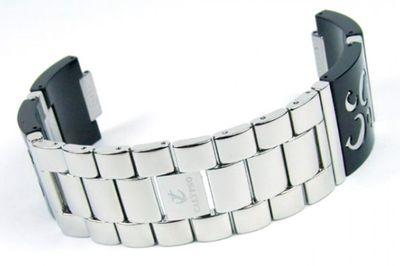 Calypso Damen Uhrenarmband Kunststoff/Edelstahl schwarz Modell K5203/2 – Bild 1