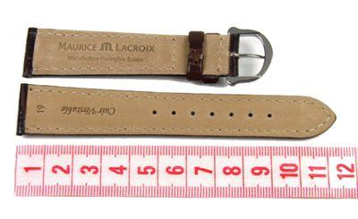 Maurice Lacroix Band 19mm | Kalbsleder-Louisiana-Optik d.braun 19436S – Bild 2