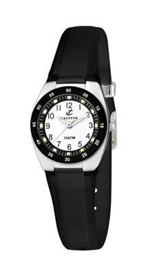 Calypso Armbanduhr Kinderuhr Analoguhr Quarz schwarz K6043/F