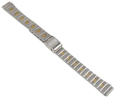 Minott Ersatzband Uhrenarmband Edelstahl Band Bicolor 11mm 19673Bi – Bild 2