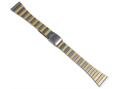 Minott Ersatzband Uhrenarmband Edelstahl Band Bicolor 16mm 823010000716 – Bild 1