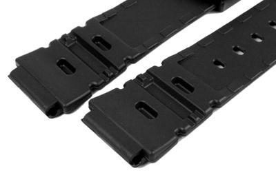Casio Ersatzband Resin schwarz 20mm ALT-6000J ALT-6000 ALT-6100 AQ-10 – Bild 2