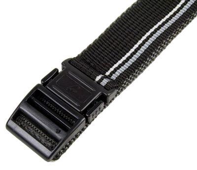 Casio Ersatzband 20mm Textil Klett Durchzugsband schwarz-Grau BG-3003V – Bild 3