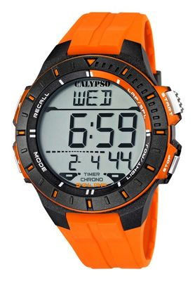 Calypso Watches K5607 | Herrenuhr Alarm-Chrono digital  – Bild 1
