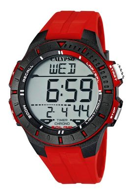 Calypso Watches K5607 | Herrenuhr Alarm-Chrono digital  – Bild 3