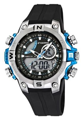 Calypso Watches K5586 Herrenuhr Alarm-Chrono analog-digital – Bild 2