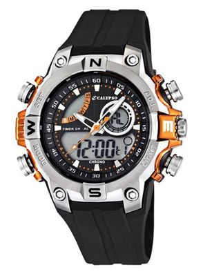 Calypso Watches K5586 Herrenuhr Alarm-Chrono analog-digital – Bild 3