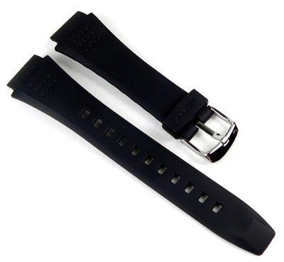 Casio Edifice EFA-123 EFA-124 Ersatzband Uhrenarmband Resin schwarz