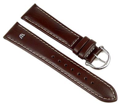 Maurice Lacroix Ersatzband Uhrarmband Büffel-Kalbsleder Band Braun 19mm 293161927S